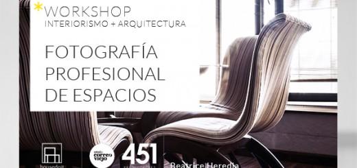Taller de fotografía para arquitectos e interioristas